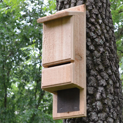 Mini Bat Tower Cedar Bat House