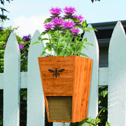 Combination Mason Bee House & Planter