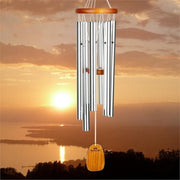 Amazing Grace Silver Wind Chime Medium