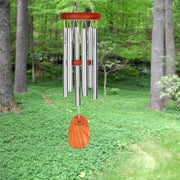 Amazing Grace Silver Wind Chime Small