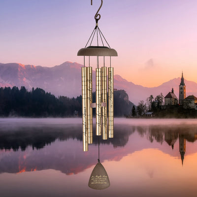 Angels Arms Solar Sonnet Wind Chime 30 inch