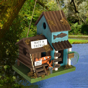 Bait & Tackle Wooden Birdhouse