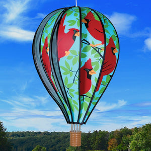 Cardinals Hot Air Balloon Spinner 22 inch - Momma's Home Store