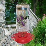 Black-Chinned Glass Hummingbird Feeder - Momma's Home Store