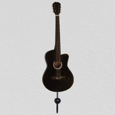 Classical Guitar Wall Hook Black