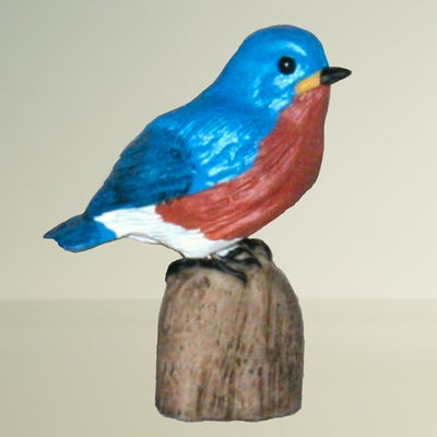 Bluebird Figurine Table Sculpture