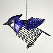 Blue Jay Suet/Seed Cake Bird Feeder