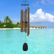 Bells of Paradise Bronze Wind Chime 44""