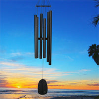 Bells of Paradise Black Wind Chime 44""