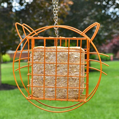 Cat Suet Cage Bird Feeder