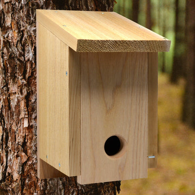 Convertible Roosting Cedar Bird House
