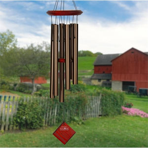 Chimes of Pluto Bronze Wind Chime 27""