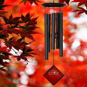 Chimes of Mars Black Wind Chime 17""