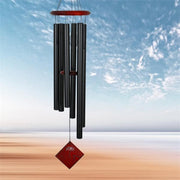 Chimes of Earth Black Wind Chime 37""