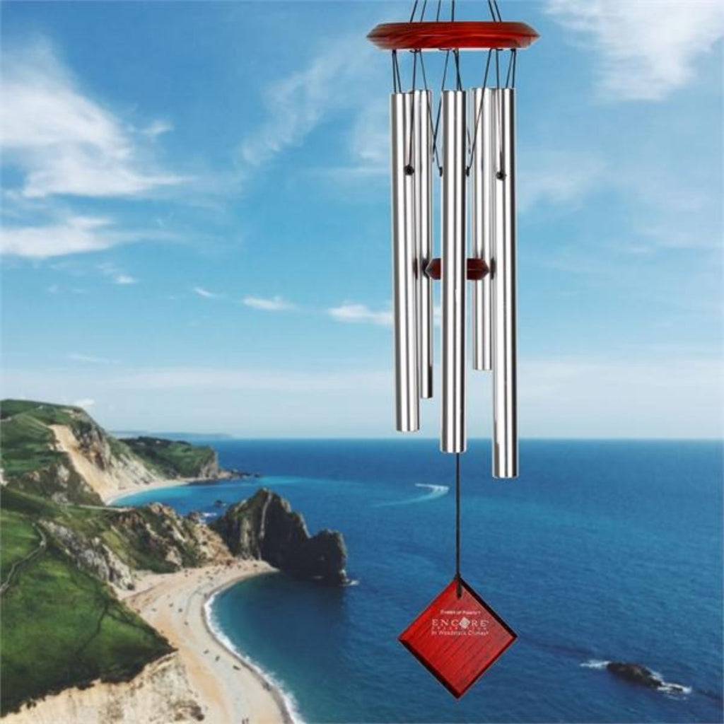 Chimes of Polaris Silver Wind Chime 22""