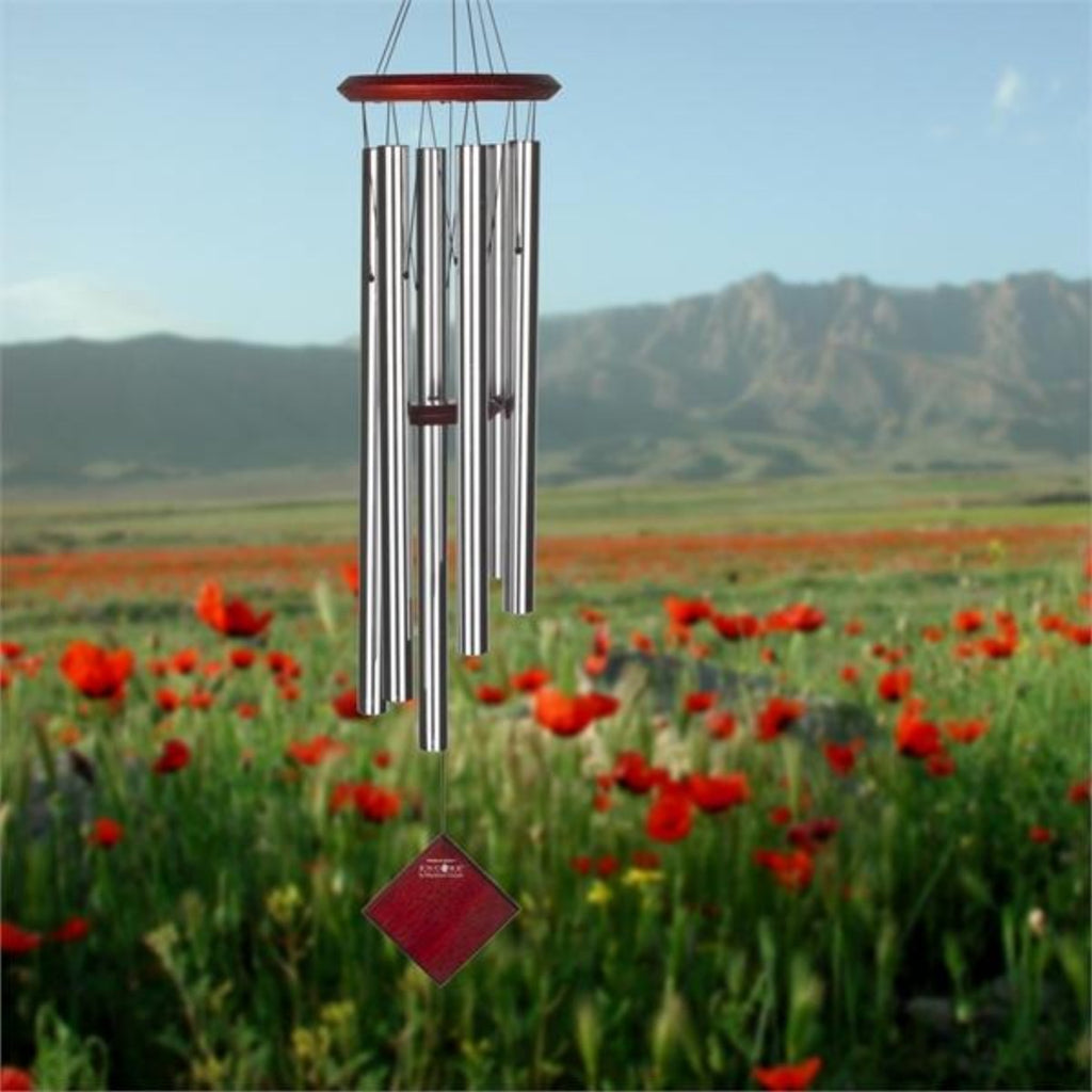 Chimes of Earth Silver Wind Chime 37""