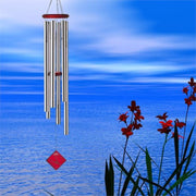 Chimes of Neptune Silver Wind Chime 54""