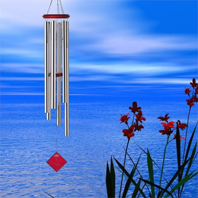 Chimes of Neptune Silver Wind Chime 54
