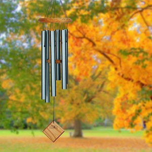 Chimes of Pluto Verdigris Wind Chime 27""