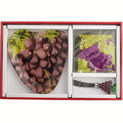 Grapes Glass Serving Platter Gift Set