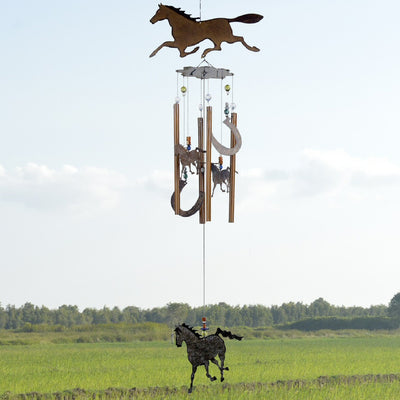 Galloping Horse Wind Chime 36 inch
