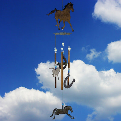 Galloping Horse Wind Chime 28 inch