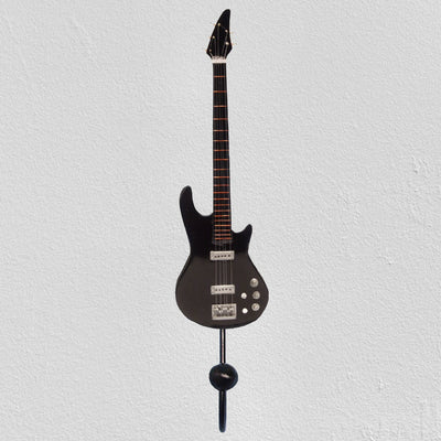 5 String Bass Guitar Wall Hook Black