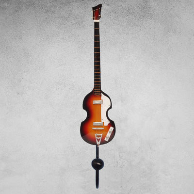 4 String Bass Guitar Wall Hook Orange