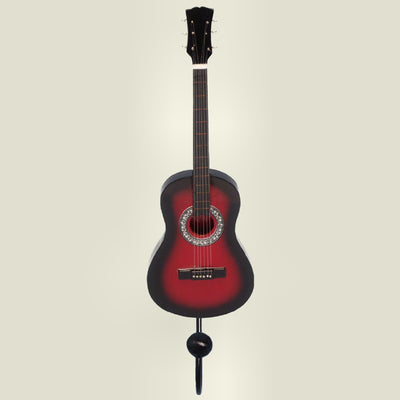 Dreadnought Guitar Wall Hook Red