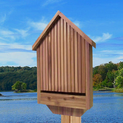 Deluxe Single Chamber Bat House