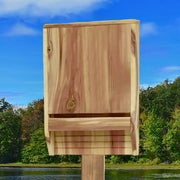 Single Chamber Cedar Bat House