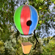 Hot Air Balloon Wooden Birdhouse