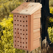 Mason Bee Wooden Nesting Lodge