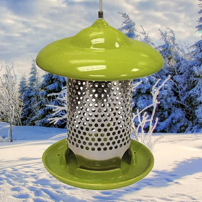 Bird Stop Bird Feeder Green