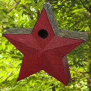 American Star Wooden Birdhouse Red