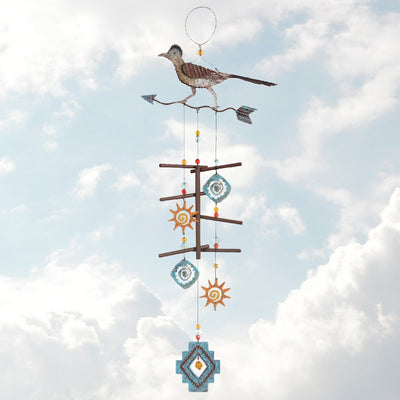 Roadrunner Metal Wind Chime