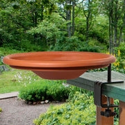 Audubon Deck Mount Birdbath w/Clamp