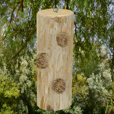 Cedar Suet Log Bird Feeder 8.5 inch