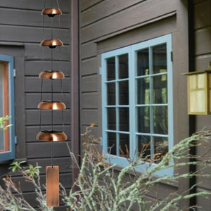 Temple Bells Quintet Copper Wind Chime
