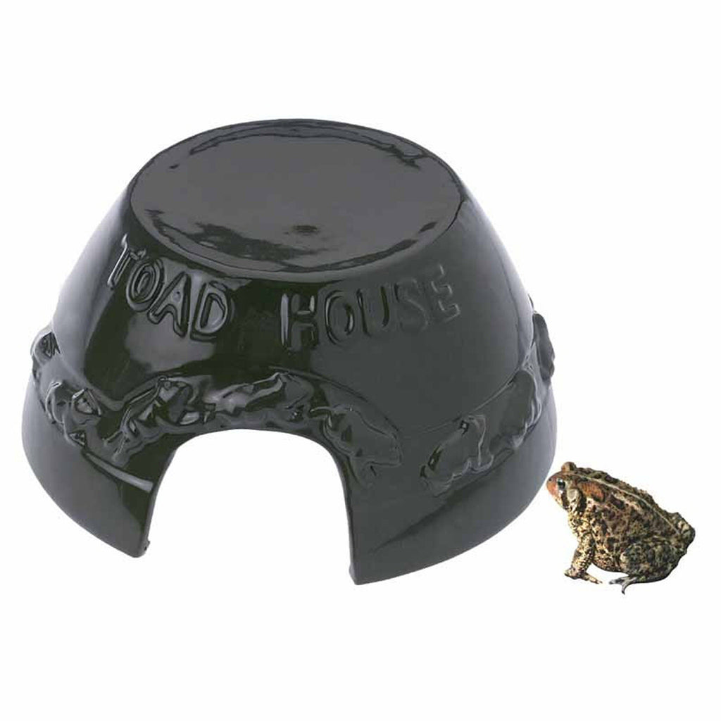 Ceramic Garden Toad House - Momma's Home Store