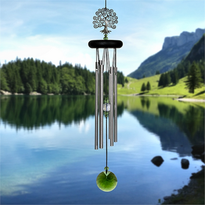Tree of Life Crystal Wind Chime