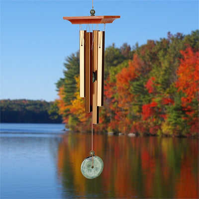 Turquoise Stone Wind Chime Small