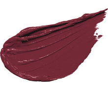 Load image into Gallery viewer, matte liquid lipstick swatch in mid tone wine berry shade