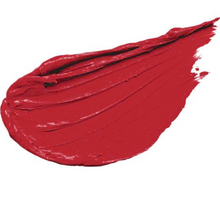 Load image into Gallery viewer, liquid lipstick swatch in classic cherry red shade