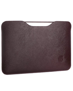 "Sleeve per MacBook Air/Pro - 13"" (saffiano marrone)"
