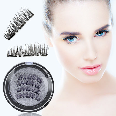 3D Magnetic Eyelash Kit 2 pairs