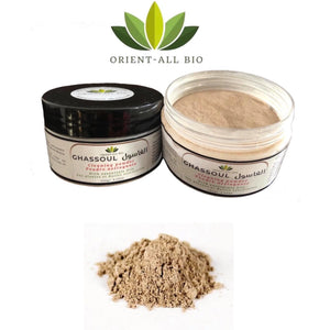 Argile Ghassoul (Masque Visage) 100% Pure & Naturel (100g)