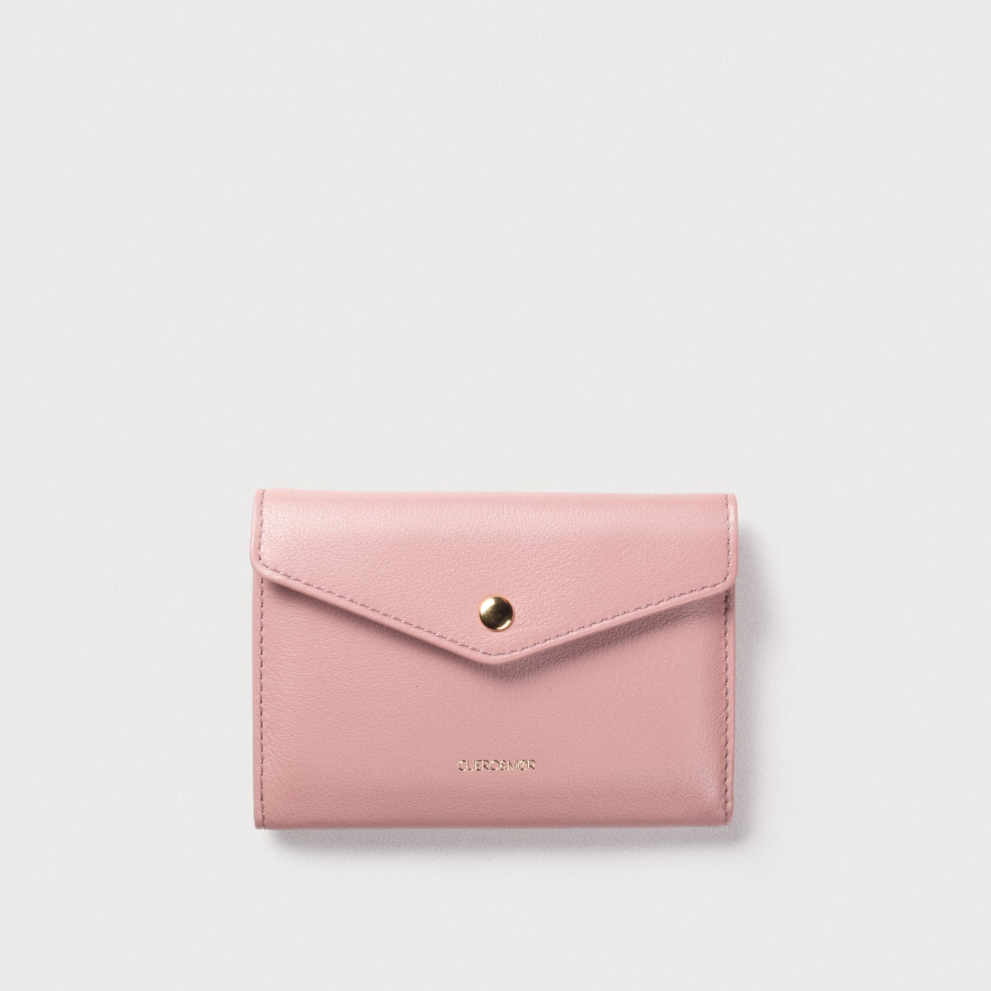 mini Edna Wallet - Dusty Rose