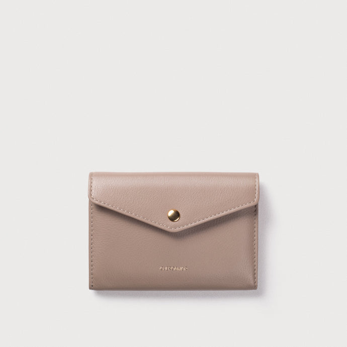 mini Edna Wallet - Taupe