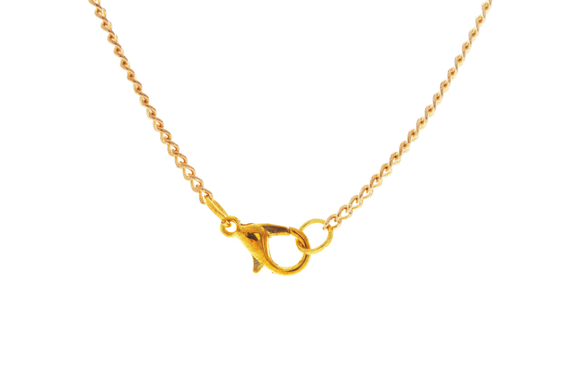 Gold chain with lobster clasp
